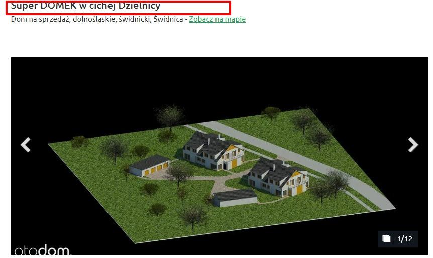 podgląd zdjęć oferty ogłoszenia nieruchomości
