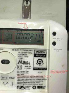 licznik energii elektrycznej w nieruchomości