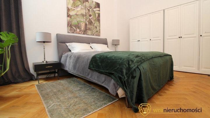 sypialnia w poziomym rzucie mieszkania